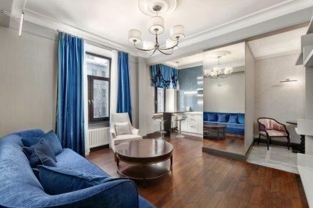 Фото квартиры в классическом стиле