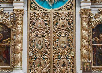 Фрагмент иконостаса Троицкой церкви