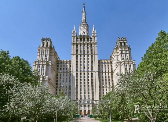 Фото дома на Кудринской площади