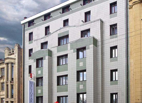 Фотосъемка фасада отеля