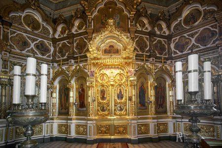 Интерьер храма Гребневской иконы Божией Матери