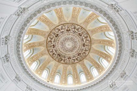 Купол над круглым залом