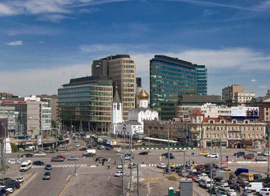 Фото Площадь Белорусского вокзала