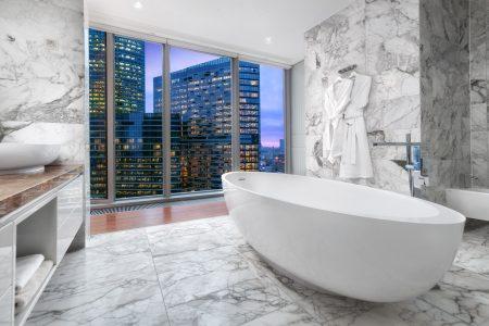 ванная комната в Москва-сити