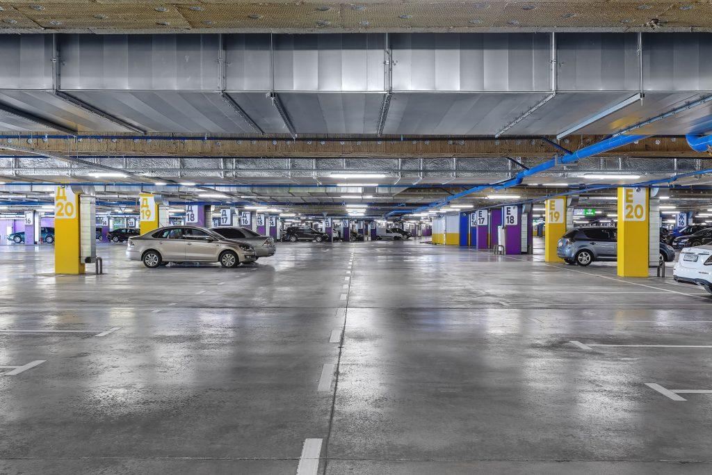 Фото подземной парковки